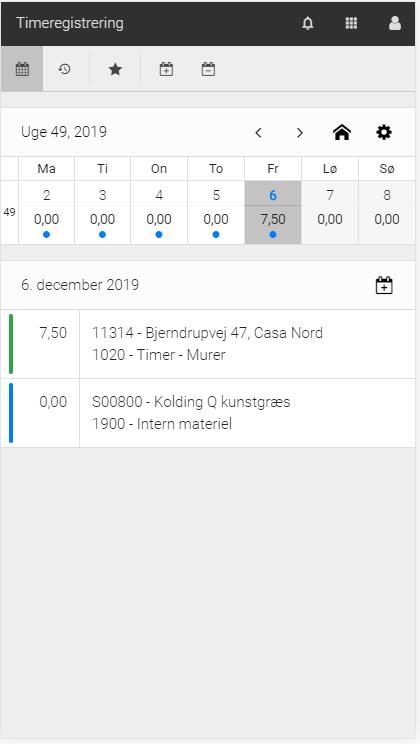Timeregistrering_Navision