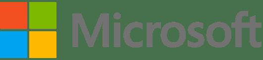 Microsoft logo med de fire farver