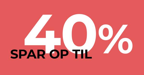 Spar 40% på Business Central licenser