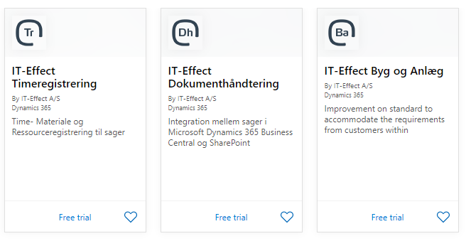 IT-Effect Microsoft Appsource