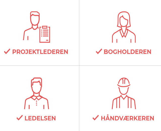 Personaer i byggebranchen
