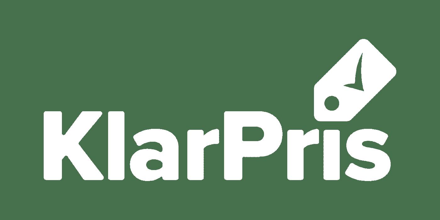 KlarPris_Logo_White